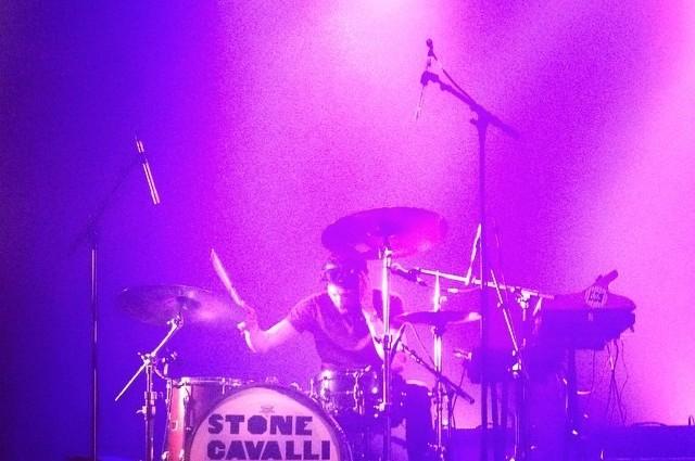 pink drum belle electrique